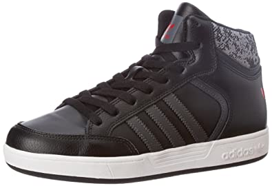 adidas Originals Unisex Varial Mid J Cblack, Dgsogr and Scarle Leather  Sneakers - 3 UK c1057da7ed49