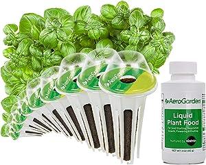 AeroGarden 809545-0208 Pesto Basil seed kit, 9-pod