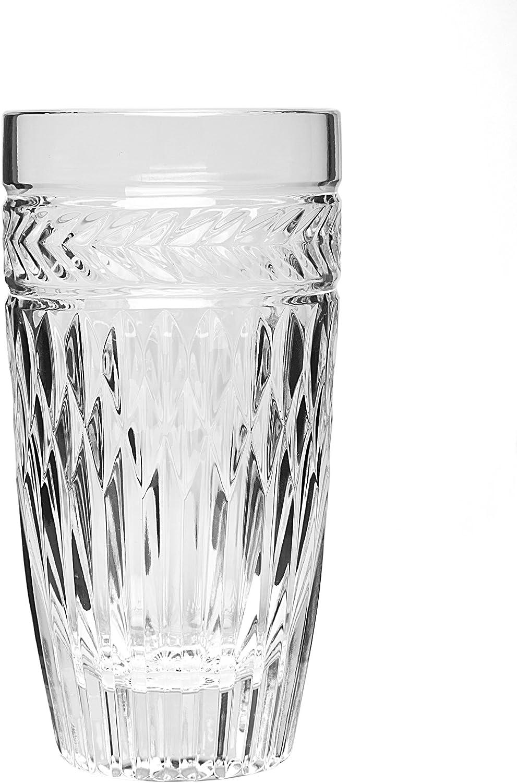 Amazon Com Godinger Symphony 10 Oz Highballs Set Of 4 Highball Glasses Highball Glasses