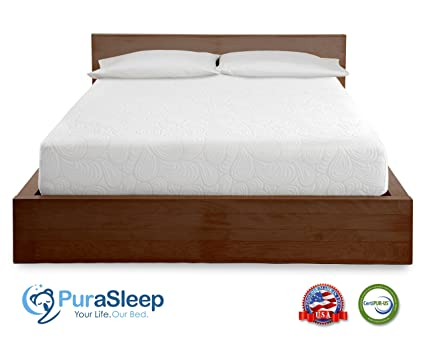 Amazon Com Purasleep Coolflow Memory Foam Mattress Made In The
