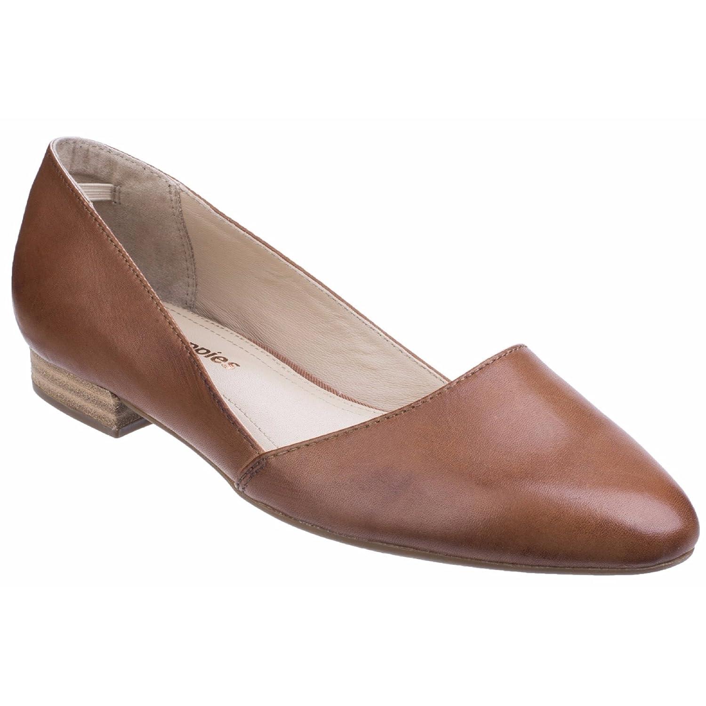 Hush Puppies Jovanna Phoebe, Zapatos de Tacón con Punta Cerrada para Mujer 41 EU Cuero Marrón Tostado