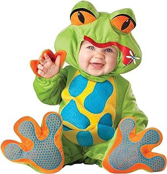 Disfraz de rana graciosa para bebé - 6-12 meses: Amazon.es ...