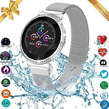 Amazon.com: Reloj inteligente UWINMO, rastreador de fitness ...