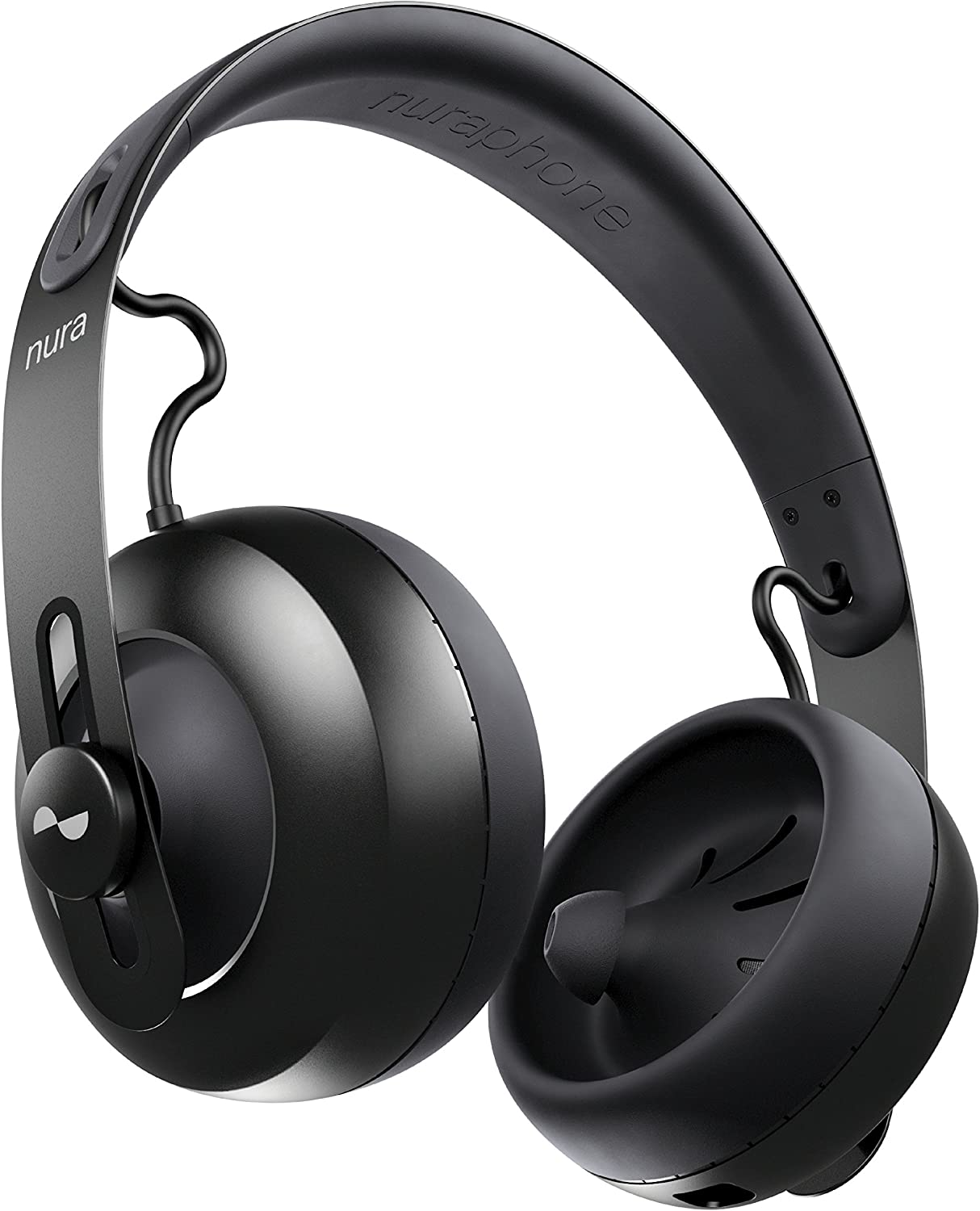 nuraphone — Wireless Bluetooth Over Ear Headphones with Earbuds, Creates Personalised Sound, Active Noise Cancellation (ANC), Social Mode, Multi tap