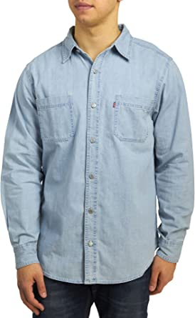 Levi's Updated Classic Denim Workshirt - New Age Bleach