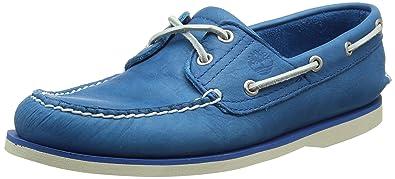 Timberland Men's Classic Boat 2 Eyemykonos Blue Escape Shoes