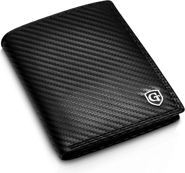 Cartera Billetera de Hombre con Protección RFID y NFC