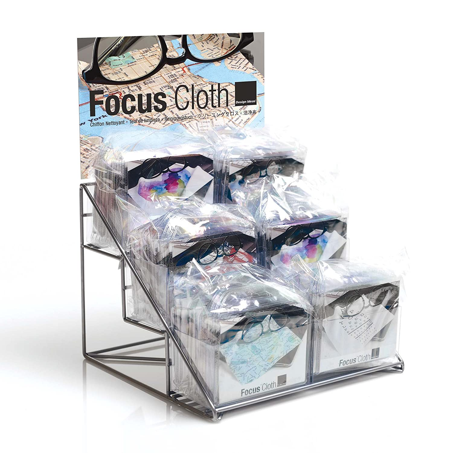 Amazoncom Design Ideas Focus Cloth Display Rack 8 X 6 X 7 Metal