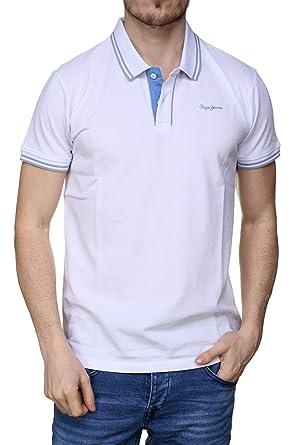 Pepe Jeans Polo Mitch Blanco Hombre XXL Blanco: Amazon.es: Ropa y ...