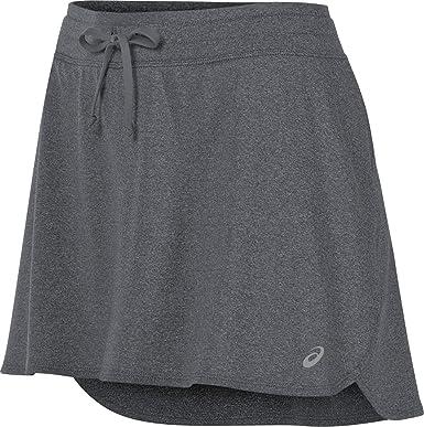 Asics - Falda para Mujer, Mujer, Color Gris Oscuro, tamaño X-Large ...