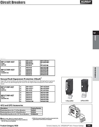 Siemens QN2175RH 175A Double Pole 120 240-Volt 22K type QNRH Circuit Breaker