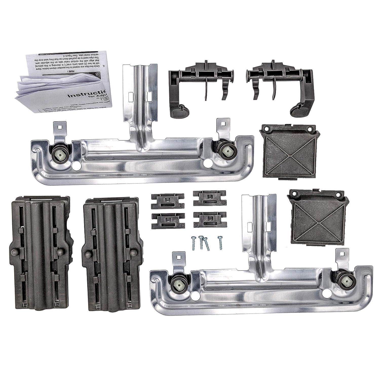 Supplying Demand W10712394 Dishwasher Adjuster Rack Kit Fits W10253546