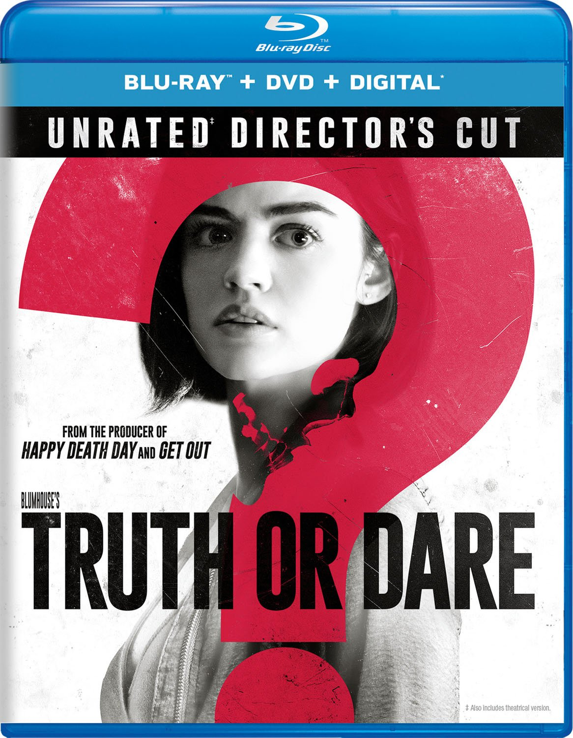 Blu-ray : Blumhouse's Truth Or Dare (With DVD, Director's Cut / Edition, 2 Pack, Digital Copy, Unrated Version)