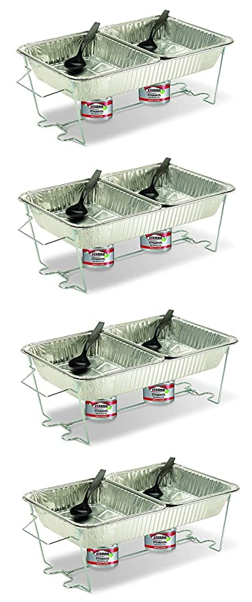 Amazon.com: Sterno 70182 Buffet Kit, Full (4 Pack): Kitchen ...