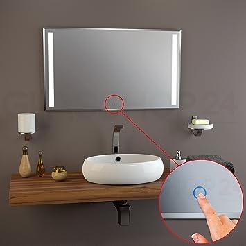 Sensor LED Spiegel 500 x 600mm Badspiegel beleuchtet