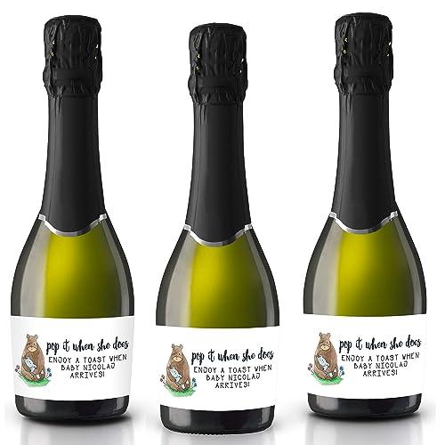 be351e79702c Amazon.com: Pop it when She Does by LoveAtEverySight, Mini Champagne ...