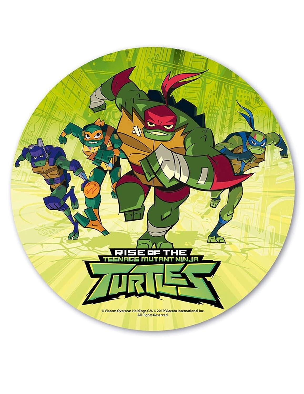 COOLMP - Lote de 6 Discos azimatos de Tortugas Ninja de 20 ...