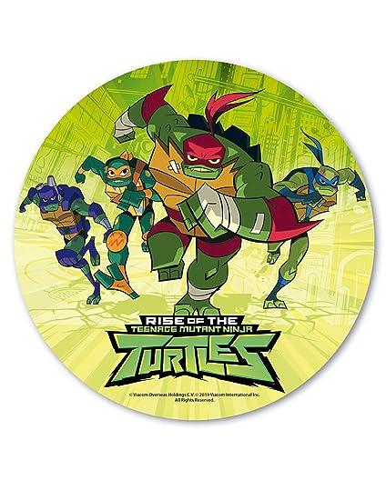 Disco matzá 20 cm tortugas Ninja: Amazon.es: Juguetes y juegos