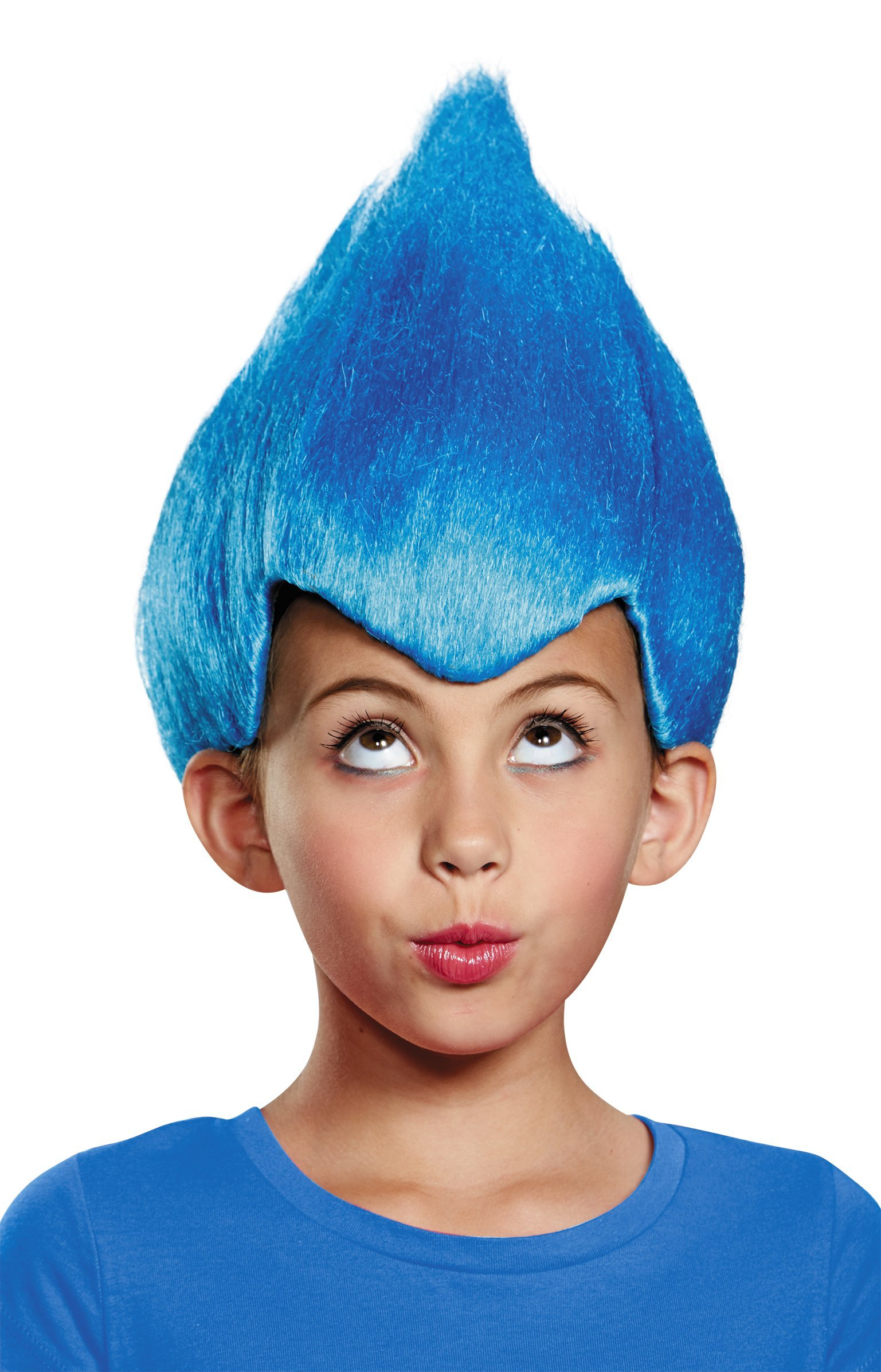 Disguise Blue Wacky Child Wig, One Size Child
