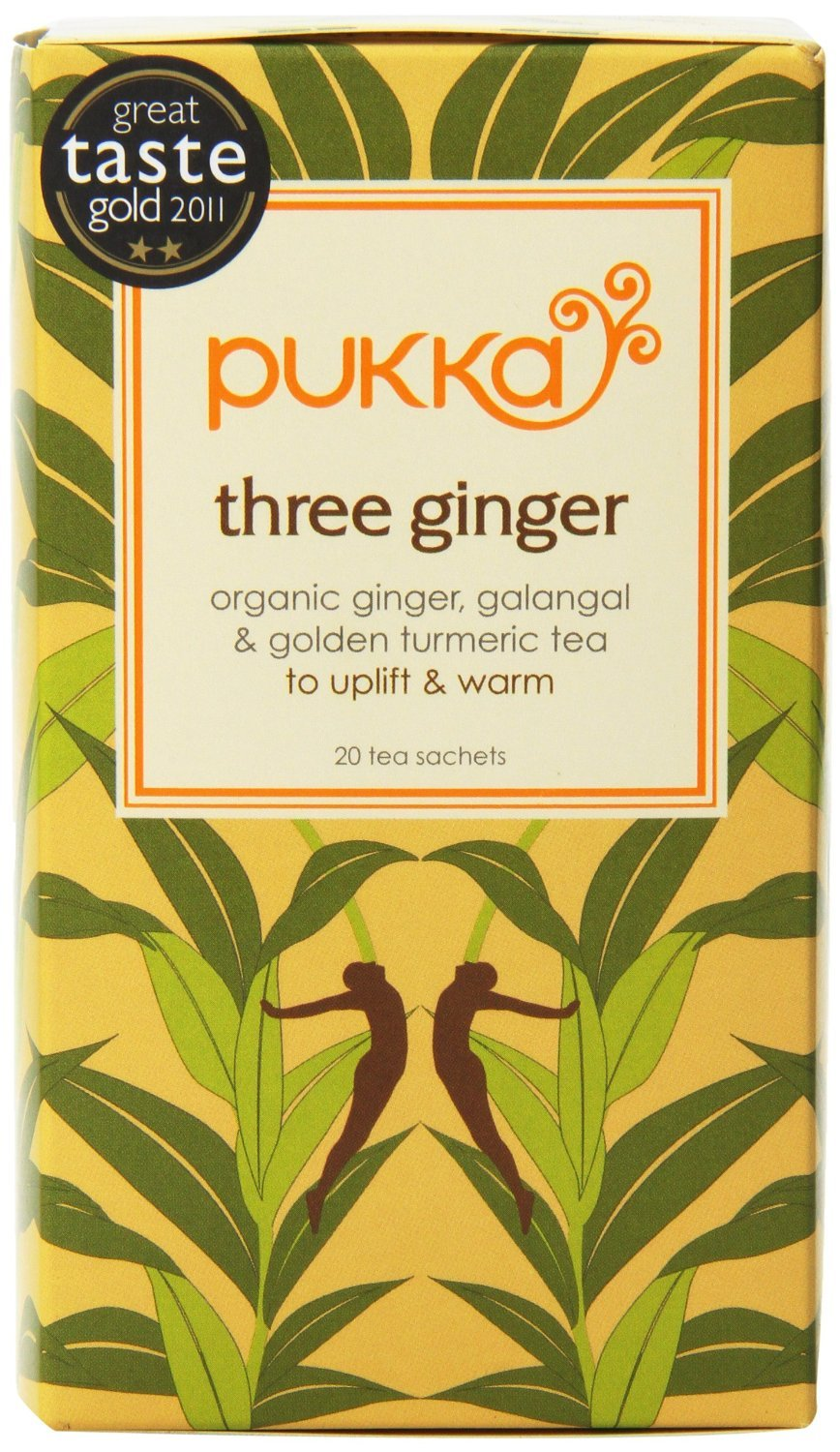 Pukka Three Ginger Tea 20 per pack Pukka Teas