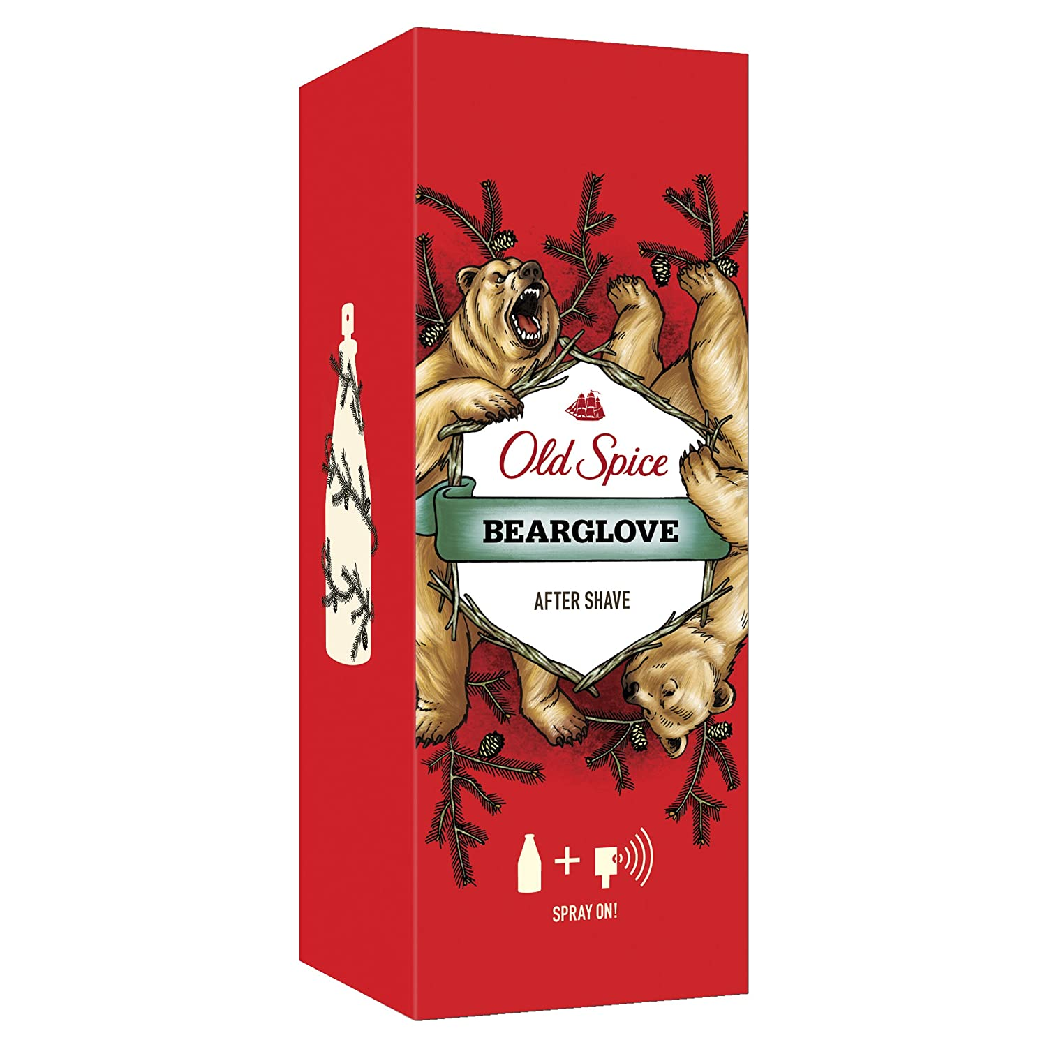 Bear Glove by Old Spice Aftershave Spray 100ml 16415