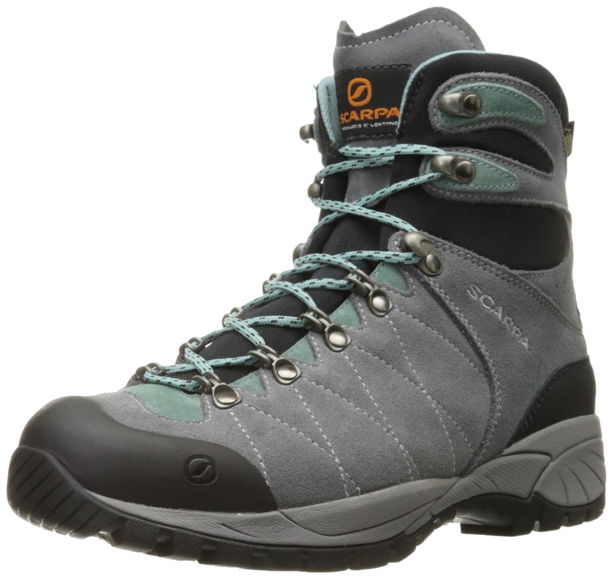 Scarpa Women's R-Evolution GTX Wmn Hiking Boot, Smoke/Jade, 39.5 EU/8 M US