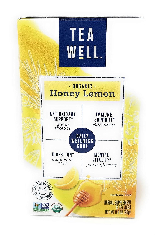 Celestial Seasonings, Organic Honey Lemon Tea, 16 Count