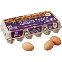 365 Everyday Value, Cage-Free Non-GMO Medium Brown Grade A Eggs, 18 ct