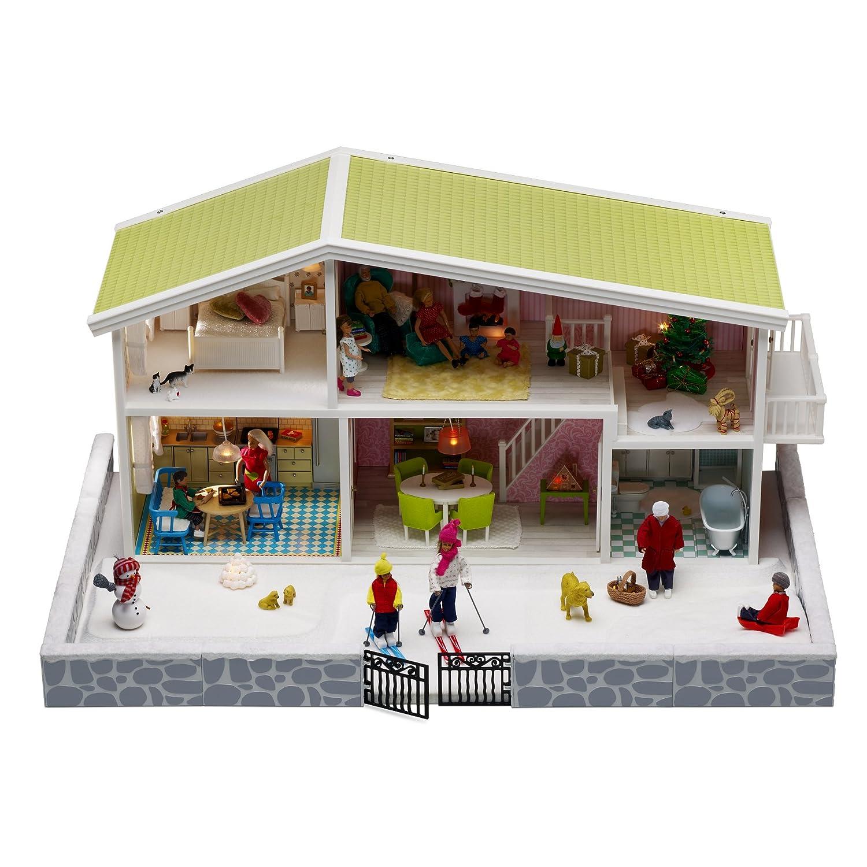 3b781ee5305c Amazon.com: Lundby Smaland Dollhouse Winter Garden: Toys & Games