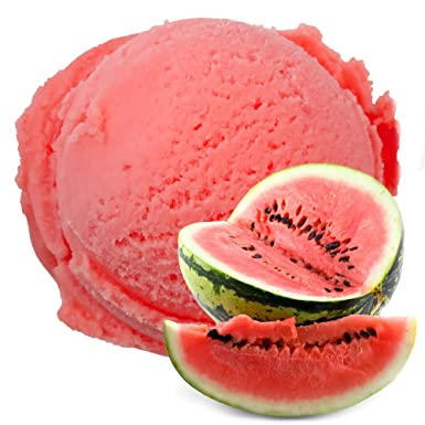 Sabor de melón de agua 1 Kg Helado de hielo Gino Gelati para helado de fruta