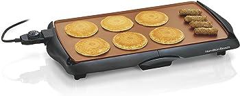 Hamilton Beach Built-In Dial Pancake Griddle