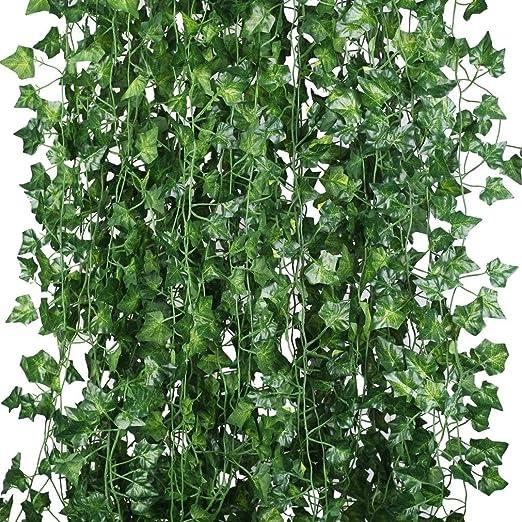 Artificial Ivy Vine Fake Foliage Flower Hanging Leaf Garland Plants Home Decor