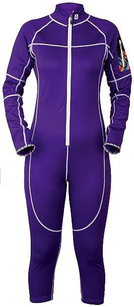 Sweet Protection Ski Saviour Suit - Conjunto térmico de ropa interior para mujer, color morado
