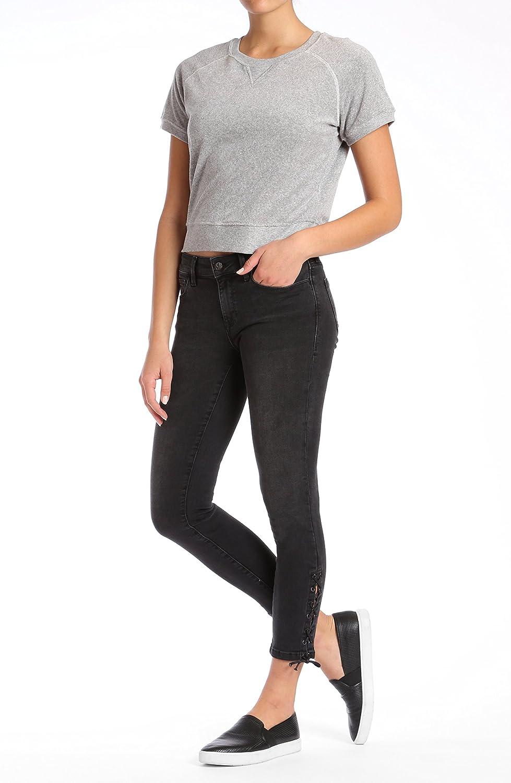 Mavi Womens Adriana Ankle Mid Rise Super Skinny
