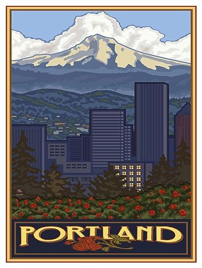 Straightforward Art Print Poster City Art