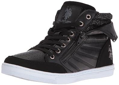 US Polo Assn Mila Sneakers Women's - Size 7.5 Black