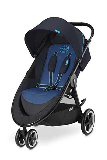 Amazon Com Cybex Agis M Air3 Baby Stroller True Blue Baby