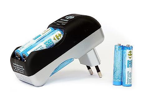 Carrefour de Uniross Chargeur de piles AA/AAA (1,2 V, 4