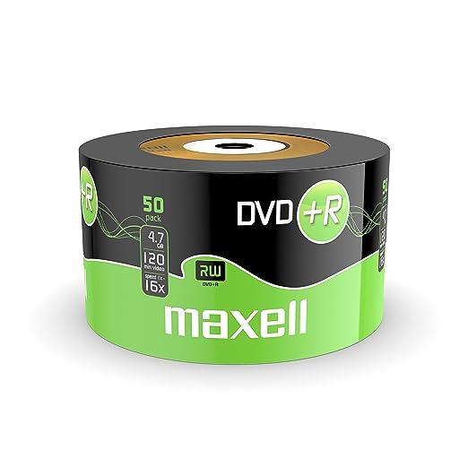10 opinioni per Maxell Dvd+r 4.7GB- Confezione da 50