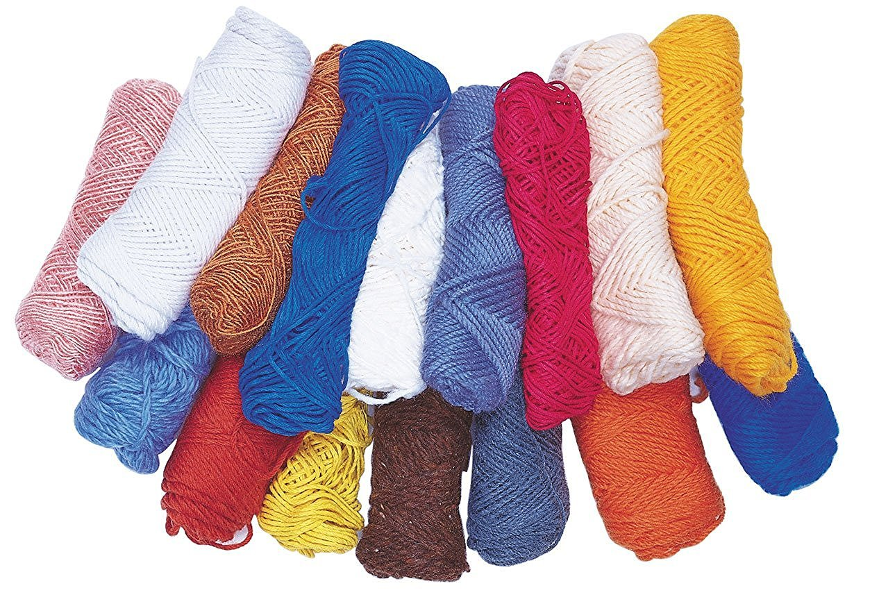 Pacon Budget Yarn Pack, Assorted, 16 Skeins [並行輸入品]   B01I6FE6G4