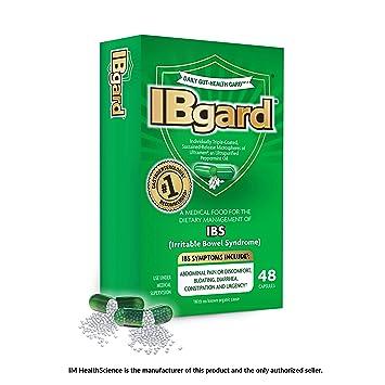 IBgard® for Irritable Bowel Syndrome (IBS) Symptoms Including, Abdominal  Pain, Bloating, Diarrhea,