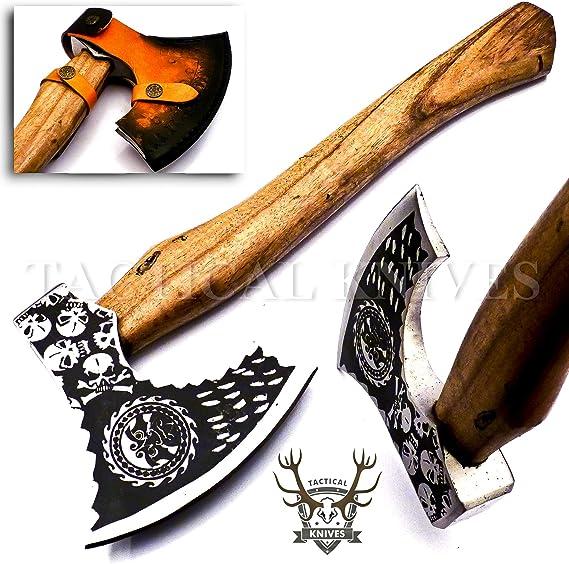 Bushcraft forged axe hand tool tomahawk steel woodworking forest axe custom hatchet
