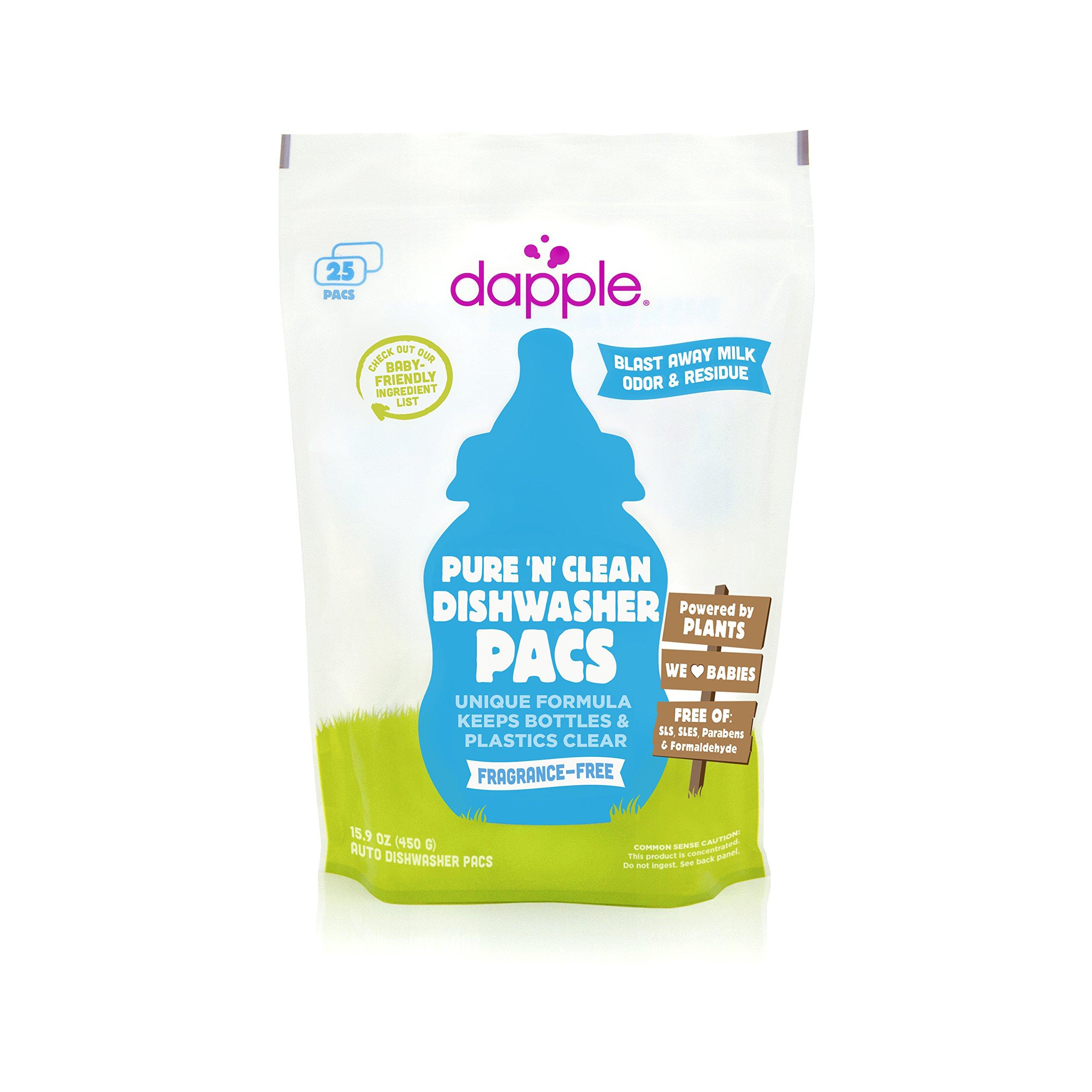 Amazon.com: Dapple Refill Pack Baby Bottle and Dish Liquid