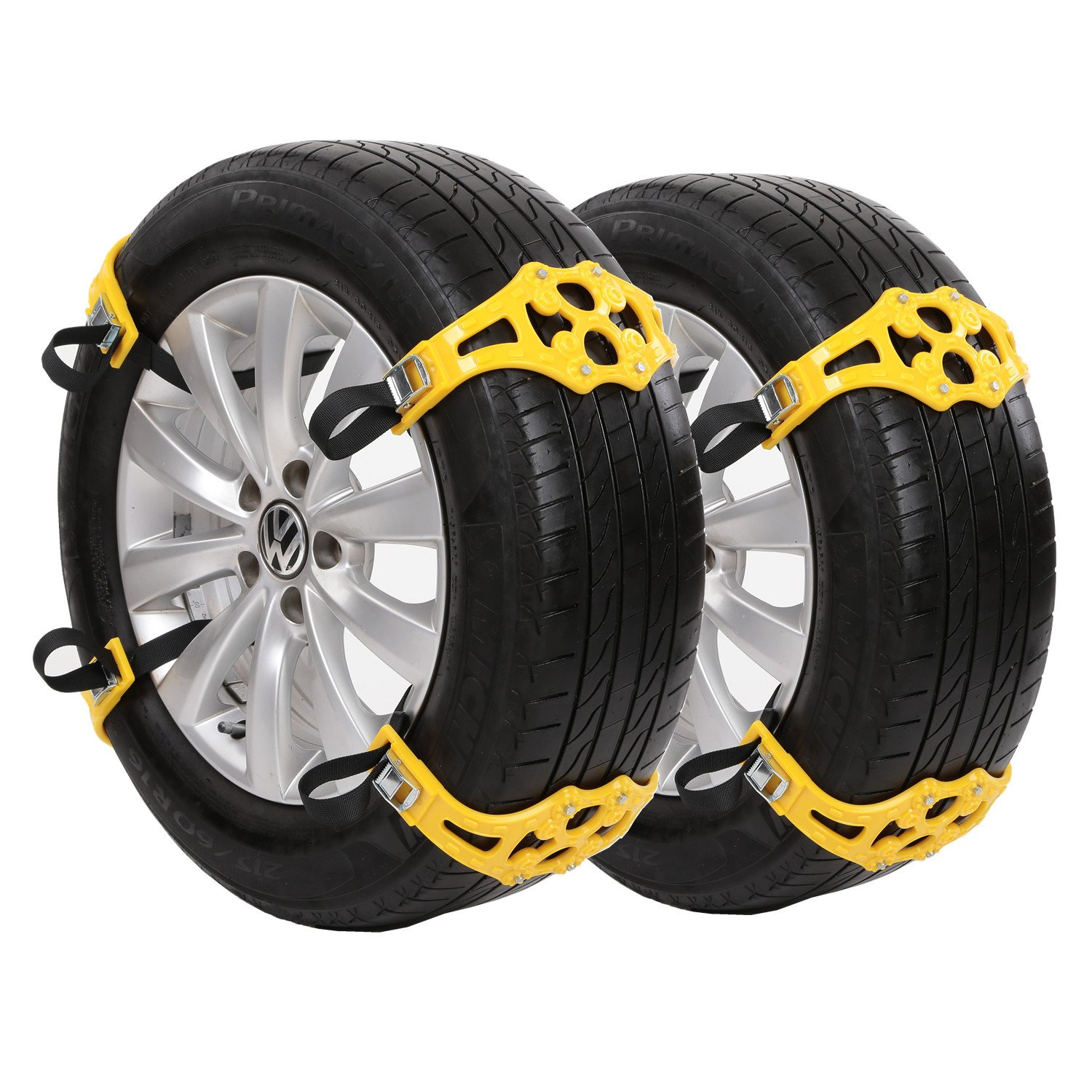 Sanku 2016 Upgraded Snow Tire Chains (スノー タイヤチェーン),Fits for Most Car/SUV/Truck-Set of 8 [並行輸入品] B01MQDXEHD
