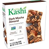 Kashi, Chewy Granola Bars, Dark Mocha Almond, Non-GMO Project Verified, 7.4 oz (6 Count)(Pack of 8)