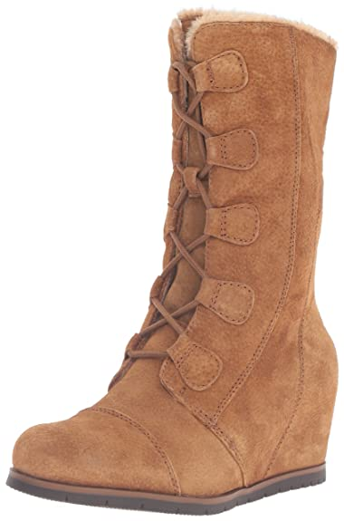 BareTraps Womens Brinda Round Toe Mid-Calf Cold Weather, Whiskey, Size 5.0