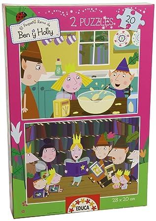 Amazon.com: Ben & Holly – Puzzle 2 x 20 piezas (Educa Borras ...