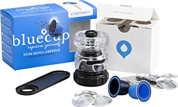 Bluecup Starter Pack Nespresso Refillable Capsule