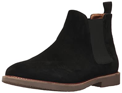 9f373de0169 Steve Madden Men s Highline Chelsea Boot Black Suede 7.5 M US