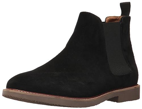 ee3c24c7a64 Steve Madden Men s Highline Chelsea Boot Black Suede 7 US US Size  Conversion ...